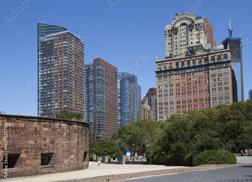 Battery Park City Canvas Print