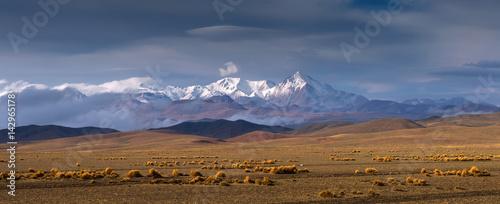 High Altiplano plateau, Eduardo Avaroa Andean Fauna National Reserve, Bolivia Canvas Print