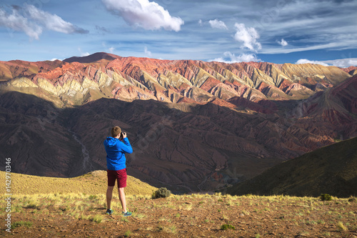 Foto op Canvas Diepbruine Hornocal, Mountain of fourteen colors, Humahuaca, Argentina