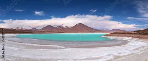 Green Lagoon (Laguna Verde), Eduardo Avaroa Andean Fauna National Park, Bolivia.