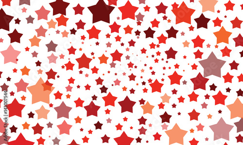 Vector, abstract background with colored stars