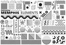 Memphis Elements Set