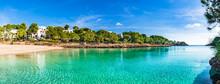 Spanien Mittelmeer Insel Mallorca Strand Cala Gran Bucht In Cala Dor