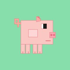 Cubic pig.