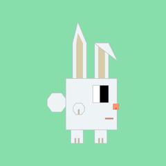 Cubic rabbit.