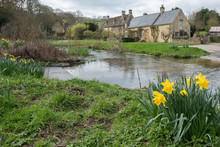 Scenic View Of Upper Slaughter...