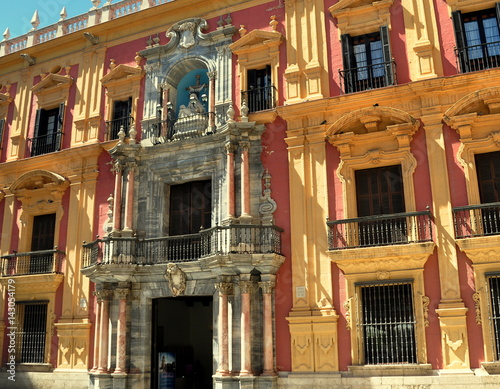 Photo  Bischofspalast von Málaga