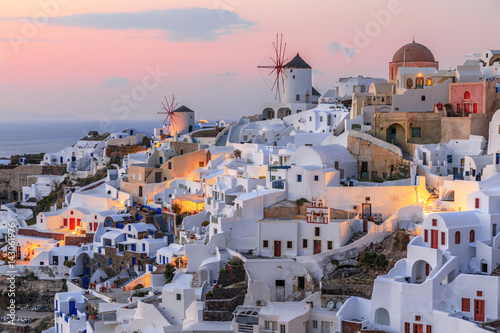 Santorini is an island in the southern Aegean Sea