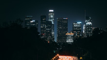 Downtown Los Angeles At Night ...