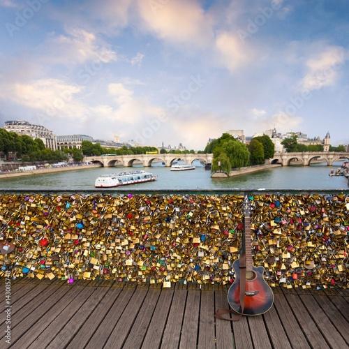 Papiers peints Paris Paris from pont des arts
