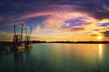 Sundown Upriver