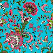 Seamless Pattern With Fantasy ...