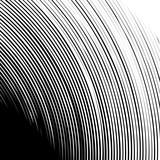 Geometryczny kanciasty kształt spirali. Wiruj, wiruj z teksturowanymi koncentrycznymi liniami. - 143111788