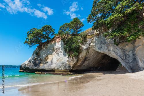 Foto op Canvas Cathedral Cove Te Whanganui-A-Hei (Cathedral Cove) Marine Reserve in Coromandel Peninsula North Island, New Zealand.