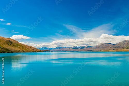 Poster Turquoise Beautiful Lake Tekapo, NewZealand