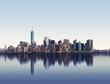 Skyline of New York City, USA