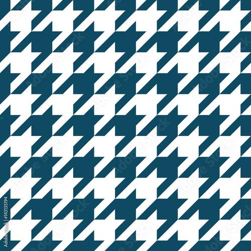 Photo  houndstooth checkered fashion trendy textile geometric pattern
