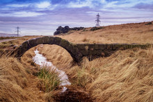 The Pennine Way At Cows Mouth ...