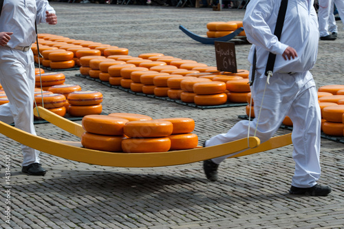 Gouda cheese market, Holland