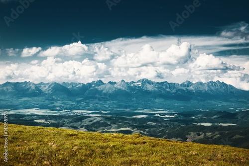 Keuken foto achterwand Groen blauw Tatran National Park
