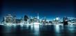 Illuminated Manhattan view
