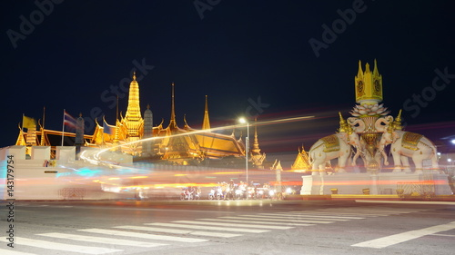 Around Bangkok Canvas Print