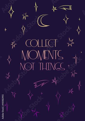 zbieraj-chwile-nie-rzeczy-plakat-wektor-motywacji-delikatne-gwiazdy-gradientu