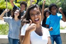 Schüler Freuen Sich Auf Sommerferien