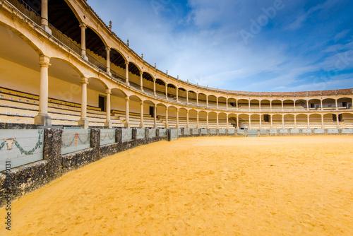 Famous bullring in Ronda,Spain