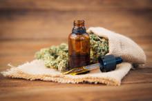 Weed, Medical Marijuana Grunge Detail