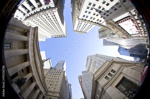 Photo  New York City - Downtown Manhattan.