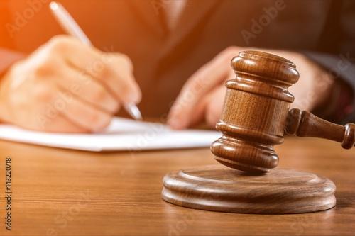 Law. Canvas Print