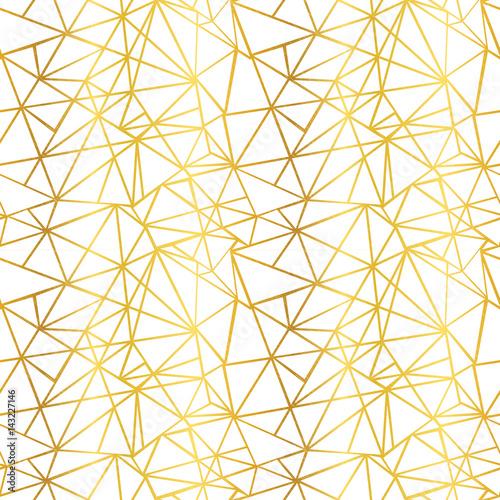 wektor-biale-i-zlote-folia-drut-geometryczne-mozaiki-trojkaty-powtorzyc-be