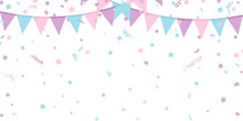 Buntings Kids Garland Isolated...