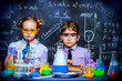 young scientists in a lab