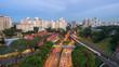 Singapore mass rapid train (MRT) Buona Vista station
