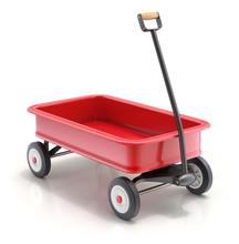Vintage Child's Toy Mini Wagon...