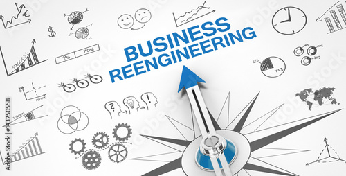 Valokuva  Business Reengineering / Compass