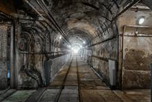 Underground Military Bunker From Second World War