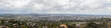 Panoramic View Of Los Angeles,...