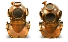 Copper Old Vintage Deeps Sea D...