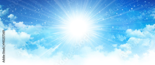 Photo  Heavenly sunshine