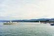 River ferry in Zurich Lake Swiss