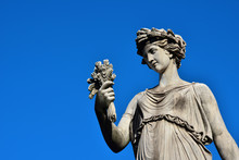 Classical  Roman Or Greek Goddess Statue (with Copy Space)