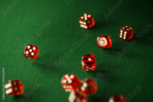 dice, red, casino, gambling, craps, rolling, dices, transparent, background, luc плакат