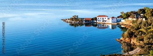 Staande foto Kust Idylle im Mittelmeer