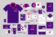 Business design. Corporate identity template. Logo, label, brand promotion. Vector illustration