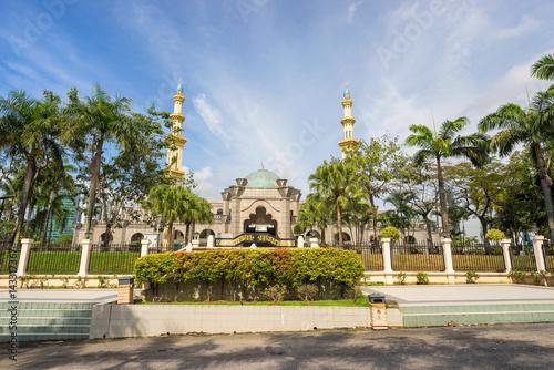 Mosque Masjid Wilayah Persekutuan at Kuala Lumpur Malaysia Canvas Print