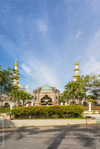 Photo  Mosque Masjid Wilayah Persekutuan at Kuala Lumpur Malaysia