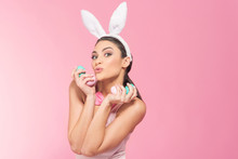 Playful   Woman - Bunny Have F...